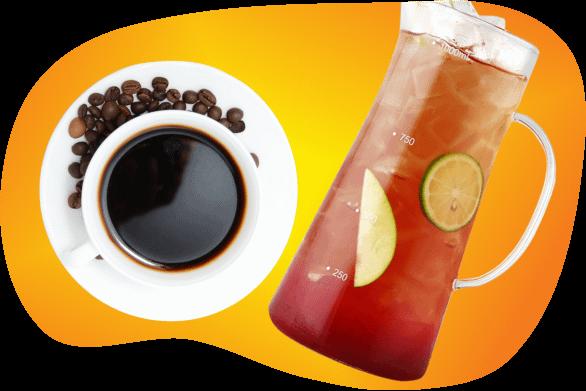 lifestyle hacks tea coffee black